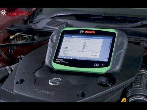 Bosch KTS590 - Managing Diagnostic Data Training Module Trailer