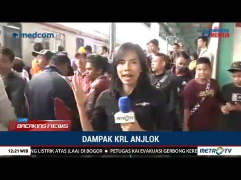 Jalur KRL Jakarta-Bogor Belum Bisa Dilalui