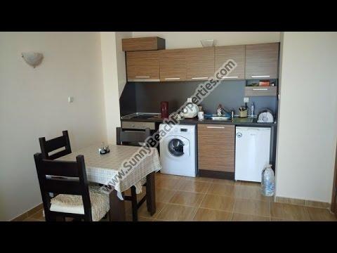 Продаётся меблированная Двухкомнатная квартира с видом на бассейн Роял дриймс Солнечный берег - Продолжительность: 1:48