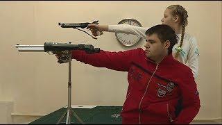 Личный новогодний турнир по пулевой стрельбе прошел в тире Дома офицеров российской армии
