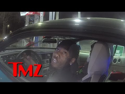 Offset Gets 3 Tickets and a Warning in Routine Traffic Stop  TMZ