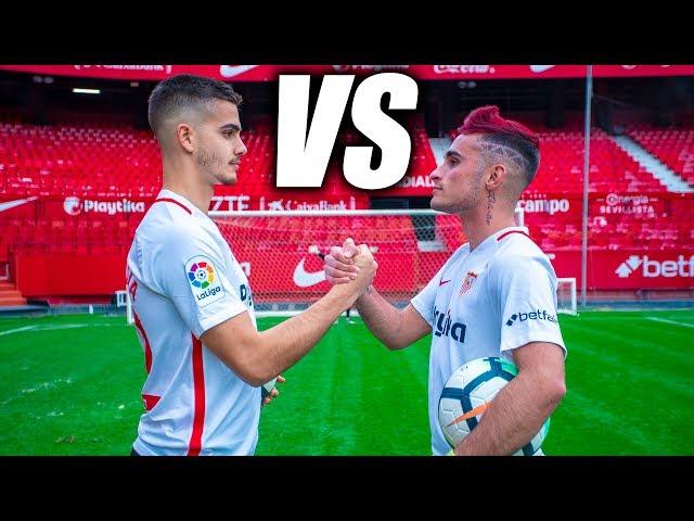 SEVILLA FC VS DELANTERO09 - Retos de Fútbol