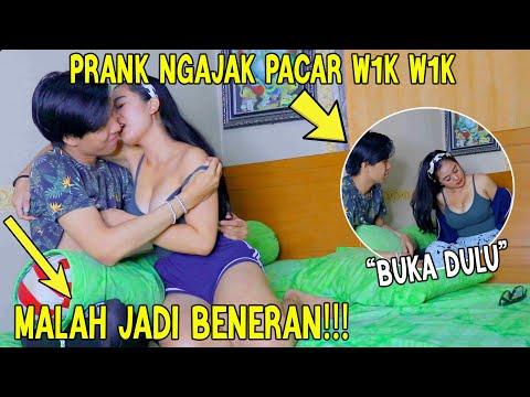 PRANK NGAJAK PACAR W1kW1K MALAH JADI BENERAN!