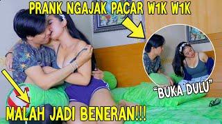 Download Mp3 PRANK NGAJAK PACAR W1kW1K MALAH JADI BENERAN