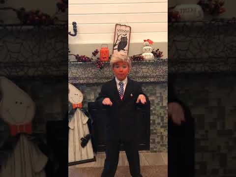 Trump impersonation by 10 year old