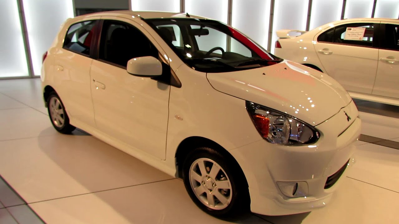 2014 mitsubishi mirage exterior and interior walkaround