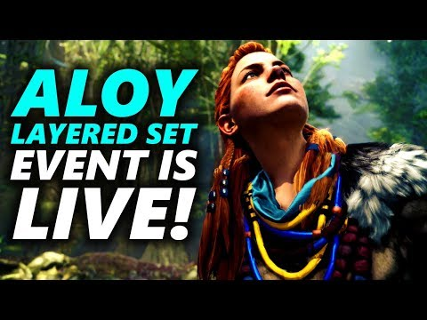 ALOY LAYERED SET EVENT IS UP RIGHT NOW ON PS4! - Monster Hunter World thumbnail