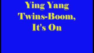 Watch Ying Yang Twins Whats Happnin video