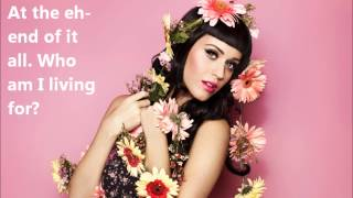 Who Am I Living For? - Katy Perry lyric video