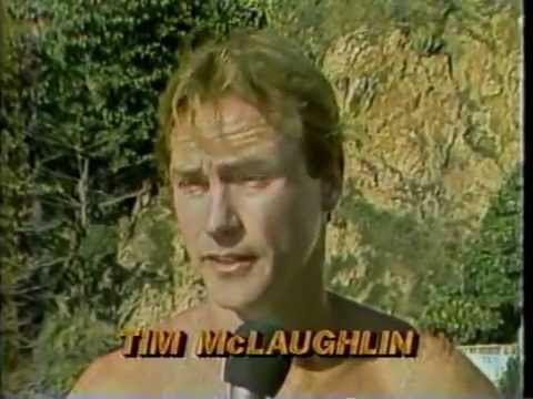 Tim McLaughlin in Acapulco Cliff Diving Competition, 1981