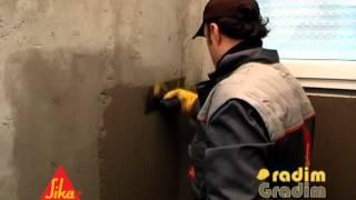 Hidroizolacija kupatila, podruma, temelja, terasa (Sika TopSeal-107 prakticni deo).mp4(, 2012-03-20T08:37:22.000Z)