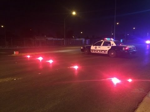 SUV hit, kills pedestrian near Tropicana and Maryland Parkway