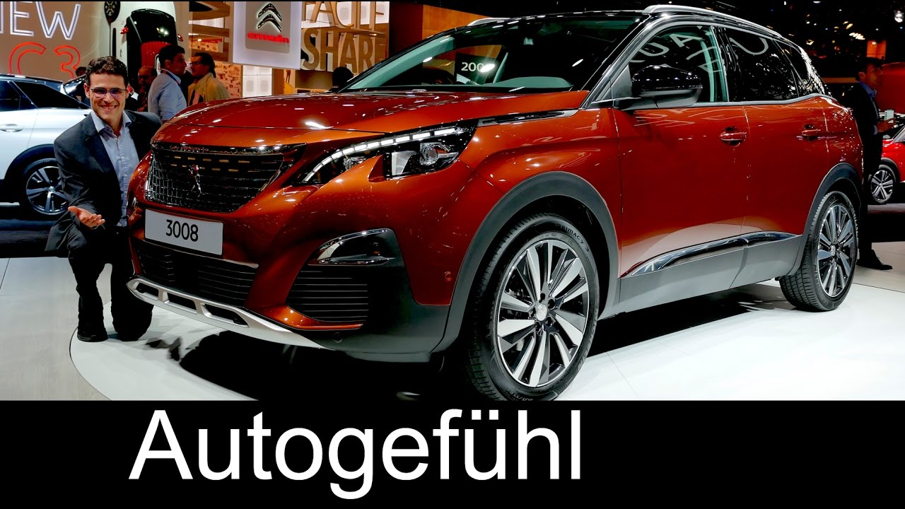 all new peugeot 3008 exterior interior preview suv 2017. Black Bedroom Furniture Sets. Home Design Ideas