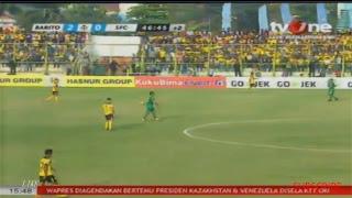 HD Live BARITO PUTERA VS SRIWIJAYA FC  [ LIGA 1 INDONESIA ]  10 September 2017