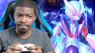 MEWTWO MIGHT BE THE SECONDARY!!! Pokken Tournament DX Mewtwo Gameplay!