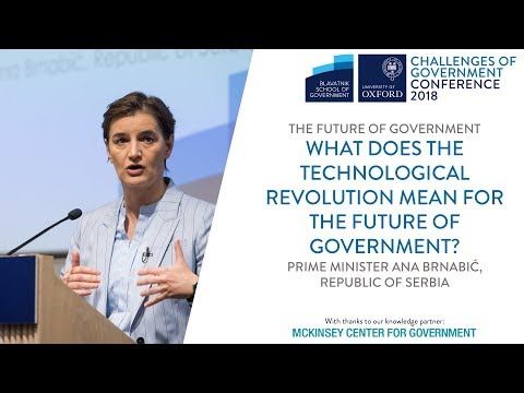 Prime Minister of Serbia: What does the technological revolution ...