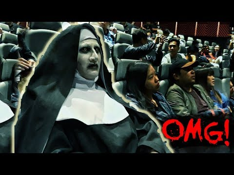 "VALAK invades the cinemas! ""The Nun' advance screening in Manila, Philippines"