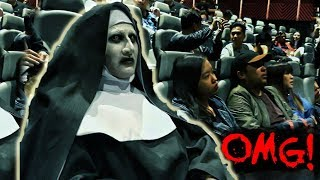 "VALAK invades the cinemas! ""The Nun"