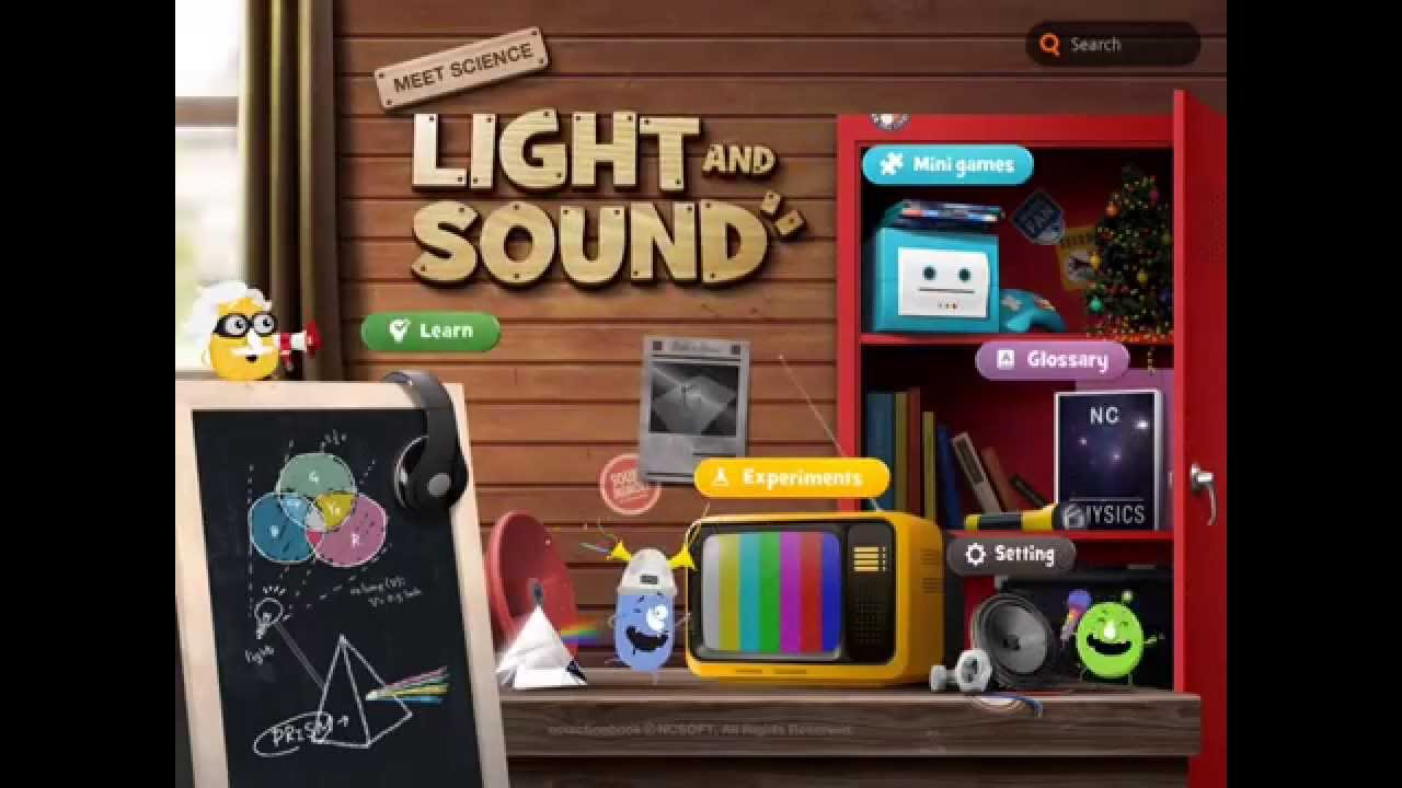 meet science light and sound