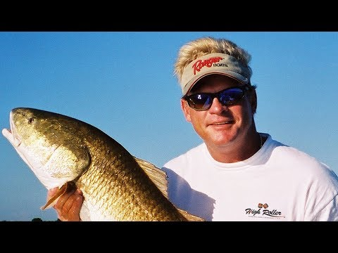 BULL RED fishing on the Indian River Lagoon in Titusville Florida