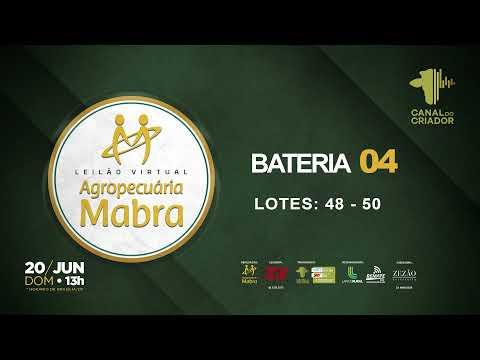 BATERIA 4 LOTE 48   50