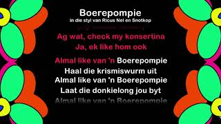 Boerepompie - ProTrax Karaoke Demo