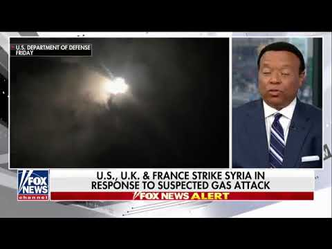 4-13-18 Satellite images appear to show Syria strike hits