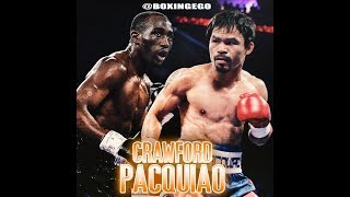 """MANNY PACQUIAO SAYS TERENCE CRAWFORD WAS """"AFRAID"""" TO FIGHT HIM LOL BOOBOO ANDRADE FIGHTS TODAY"""