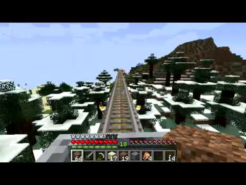 Minecraft Micro Presentations -  Railroad To The Ender Portal