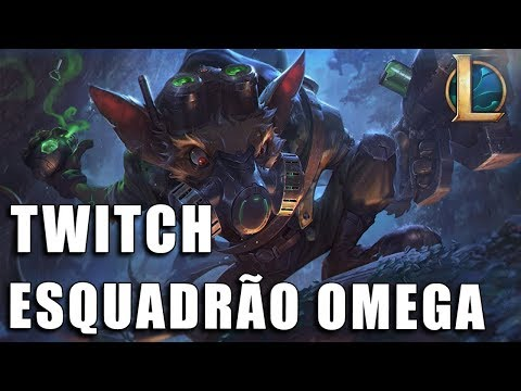 Twitch Esquadrão Omega - League of Legends (Completo)