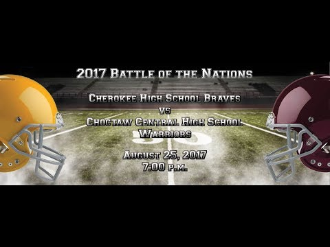 2017 Battle of the Nations: Cherokee Braves vs Choctaw Central Warriors