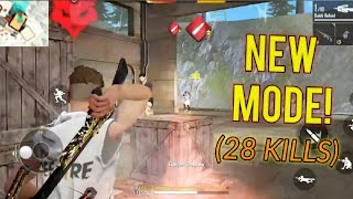 NEW GUN KING MODE GAMEPLAY! [New Update] - Garena Free Fire Advanced Server