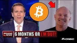 Bitcoin's Price Will DOUBLE In The Next 6 Months Or Else BITCOIN BULL Mike Novogratz Sells!