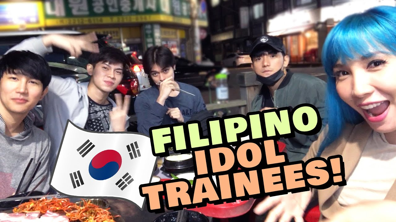 Filipino Idol Trainees In Korea Youtube