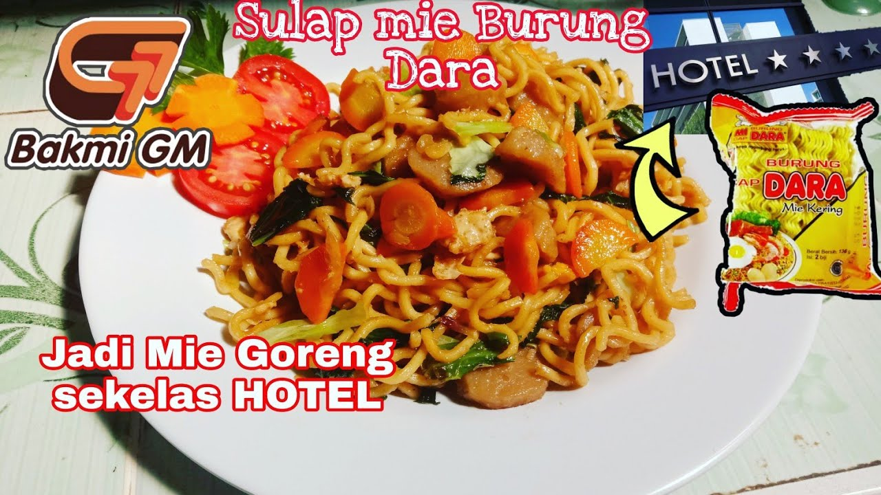 Resep Mie Burung Dara jadi Mie Goreng Spesial | Sekelas Restauran - YouTube