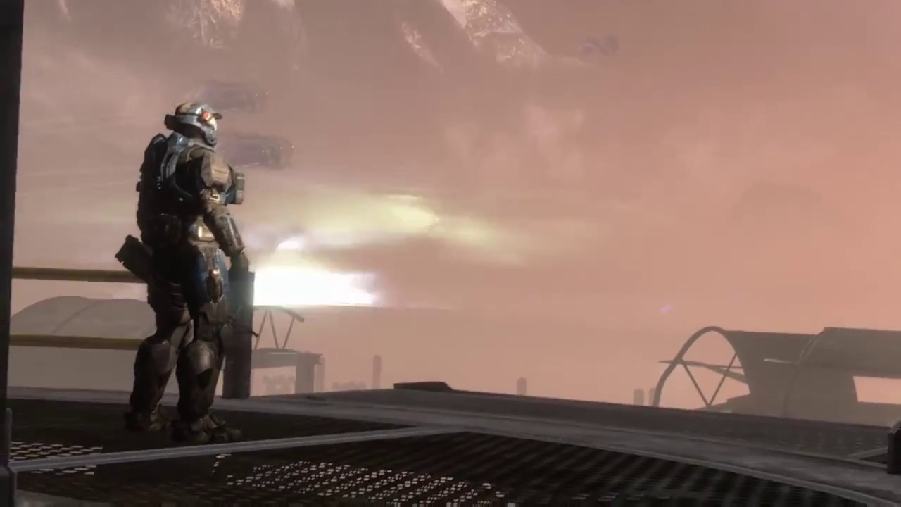Halo: Reach Ending #2 Noble Six Death Scene - YouTube
