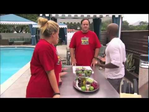 The Biggest Loser Contestants Cook With Turkey