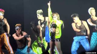120824 2NE1 - Clap Your Hands @ New Evolution Tour