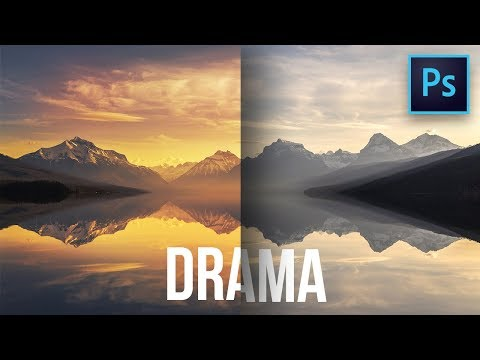 A Simple Blend If Trick to Create Colorful Dramatic Skies in Photoshop