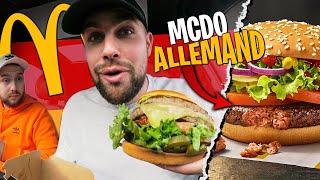 On teste le Mcdonald's Allemand avec Doc Jazy ! (on prend les spécialités)
