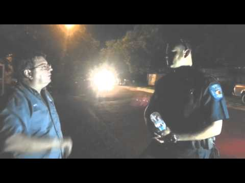 Mike Hanson Confronts Secret Black ski Masked Police in Gonzales Texas
