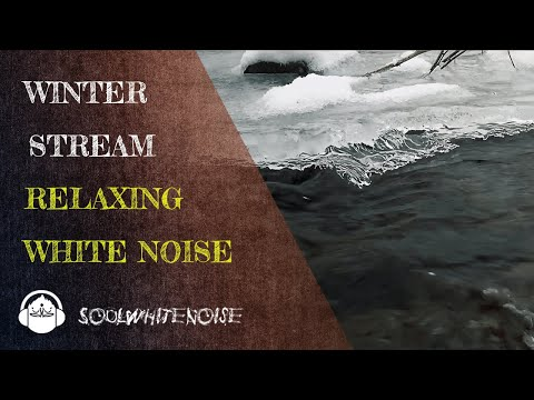 Winter Stream | Relaxing Nature Sounds for Sleep, Focus & Meditation