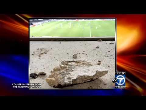 RFK Stadium is falling apart