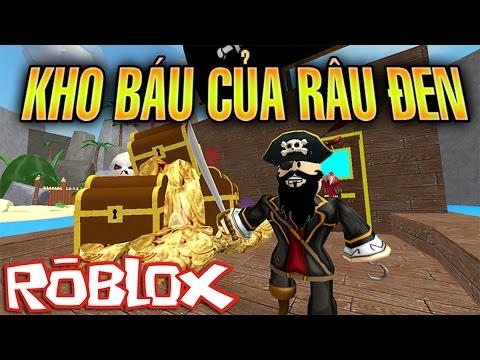 Roblox | Truy tìm KHO BÁU của RÂU ĐEN - Escape Treasure Island Obby | KiA Phạm