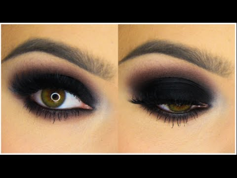 Classic Black Smokey Eye Tutorial Youtube