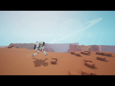 Astroneer Reveal Trailer - A game of aerospace industry and interplanetary exploration
