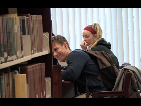 Accidentally Blasting Embarrassing Songs in the Library Prank (Part 2)
