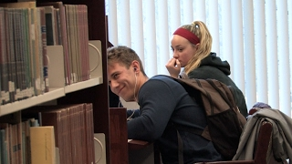 Accidentally Blasting Embarrassing Songs in the Library Prank (Part 2) thumbnail