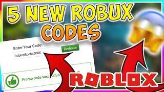 *5 CODES* NUEVOS CODES DE PROMO ROBLOX!! (2019) - ROBUX GRATIS ILIMITADO!!