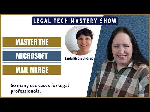 Master the Microsoft Mail Merge S02E11